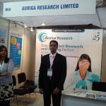 Auriga Research Limited Exhibits in Food Hospitality World -2013, Bengaluru, India