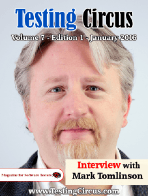 Testing Circus Software Testing Magazine January 2016