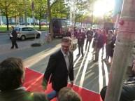 Carsten Fehse auf dem Roten Teppich