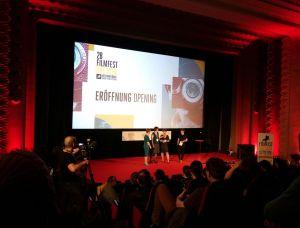 Die Festivalorganisatorinnen: Karolin Kramheller, Katrin Küchler und Alexandra Schmidt