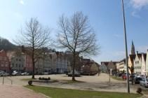 Die Freyung in Landshut bei schönstem Frühlingswetter