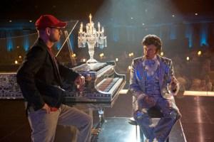 """Am Set von """"Liberace - Zuviel des Guten ist wundervoll"""""""
