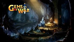 "Poster des Spiels ""Gems of War"""