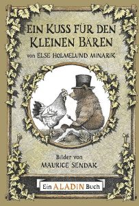 """Cover des Kinderbuchs """"Ein Kuss für den kleinen Bären"""""""