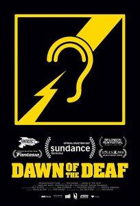 "Poster des Kurzfilms ""Dawn of the Deaf"""