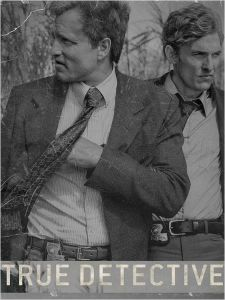 """Poster zur ersten Staffel der Serie """"True Detective"""""""