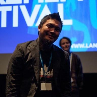 Filmemacher Arvin Belarmino im Internationalen Wettbewerb