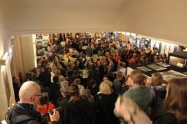 Sektempfang nach der Eröffnung des 31. Internationalen Kurzfilmfestivals Dresden 2019