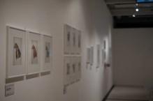 Galerieraum mit fremden Wesen © Michael Kaltenecker