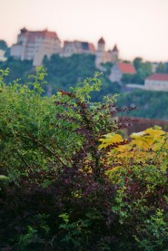Schloss Harburg im Farbfülle-Modi