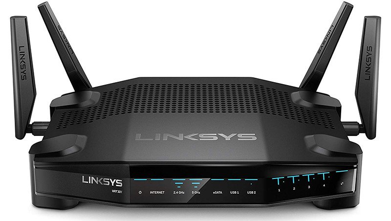 Linksys WRT32X Routeur WiFi Gaming AC3200 Double Bande avec Moteur Killer Prioritization Engine