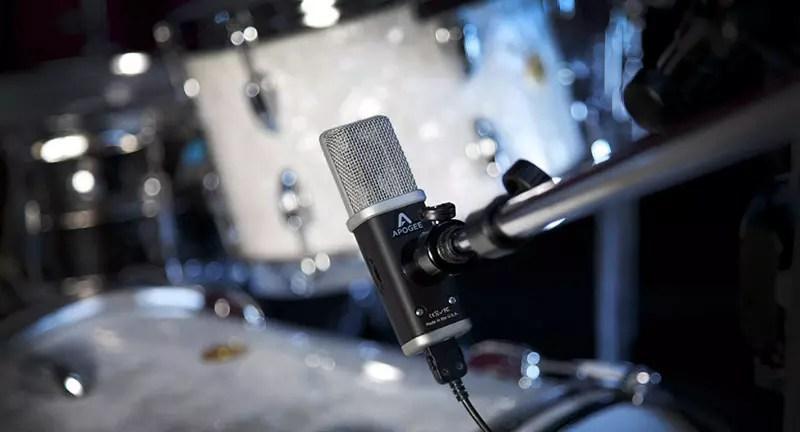 Prueba de micrófono My Apogee MiC 96k
