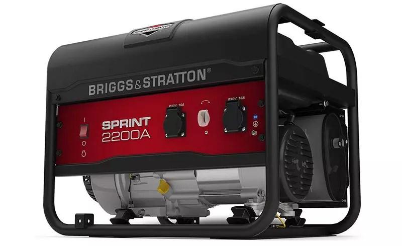 Grupo electrógeno portátil de gasolina Briggs & Stratton SPRINT 2200A