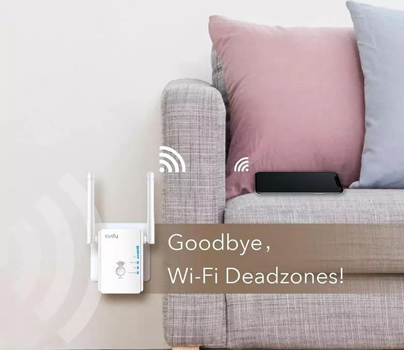 Mi prueba Cudy AC750 Dual Band WiFi Repeater - Punto de acceso Wi-Fi de 750 Mbps