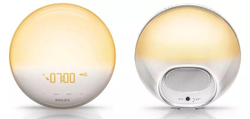 Philips - HF352001 - Luz de despertador con lámpara LED