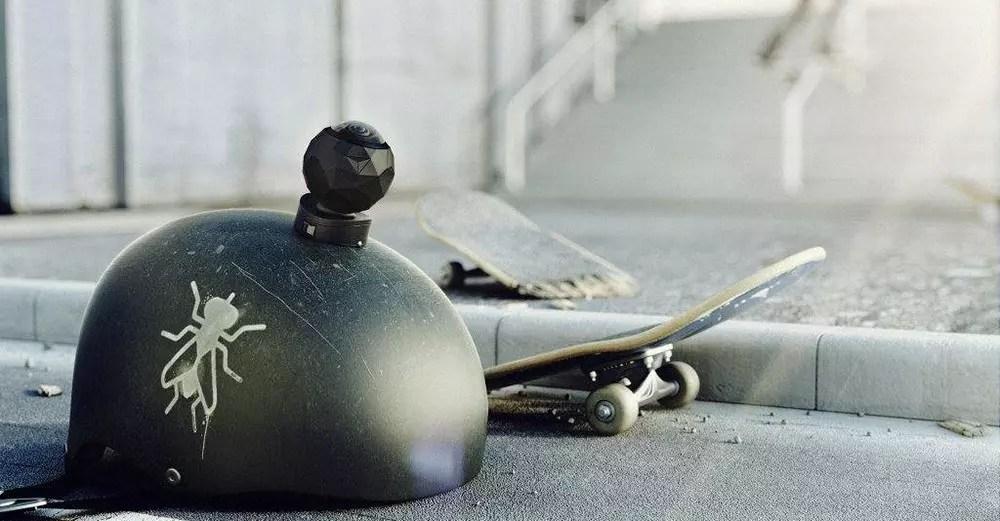 Prueba de cámara 360FLY: cámara de acción de 360 °