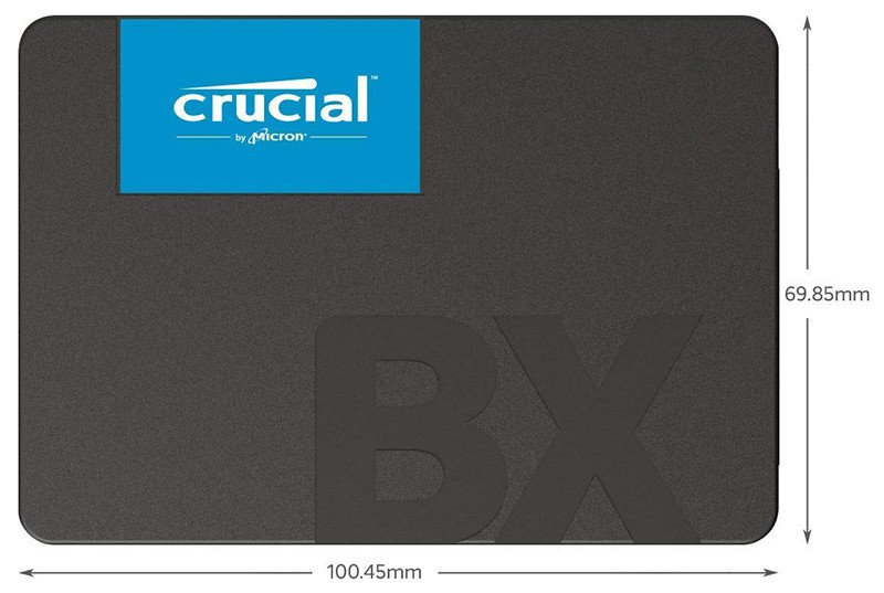 Crucial CT480BX500SSD1 SSD Interne BX500