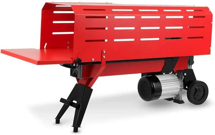 Mi opinión sobre la cortadora de troncos hidráulica EBERTH 7T