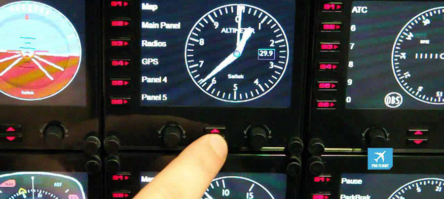 Comparatif Logitech G Saitek Pro Flight Instrument Panel