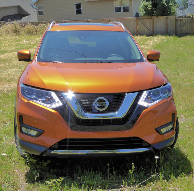 2017.5 Nissan Rogue Hybrid Front