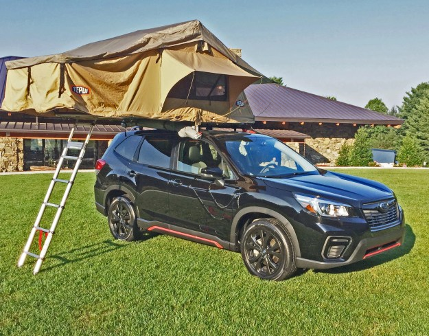 Subaru Forester Tent1