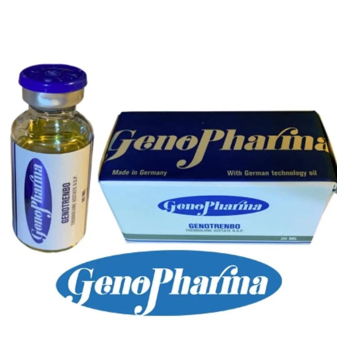 trembolona genopharma 20 ml genotrembo inyectable