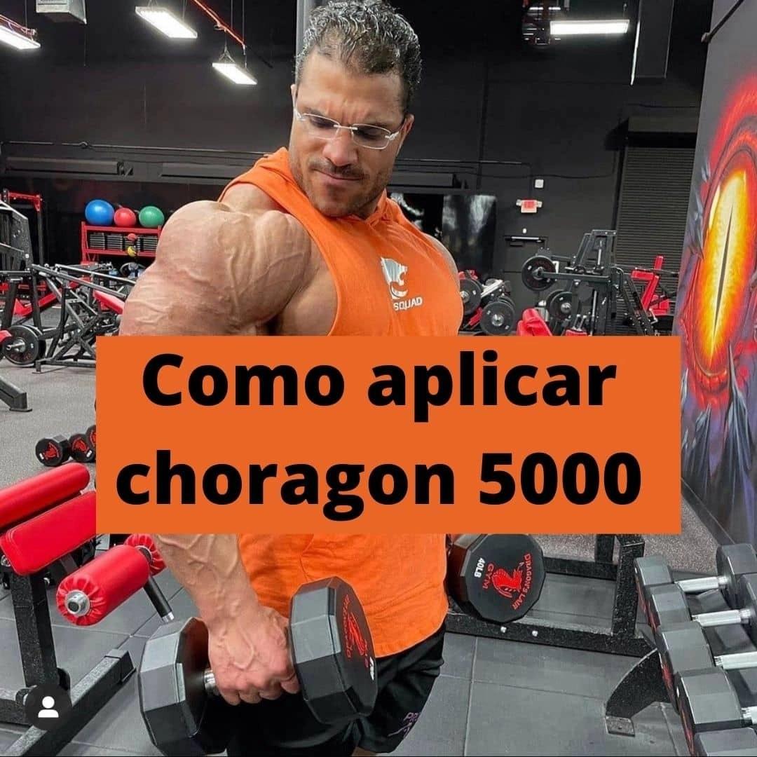 Como aplicar choragon 5000 hgh