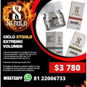 Ciclo Volumen EXTREMO XTGOLD 4 Esteroides