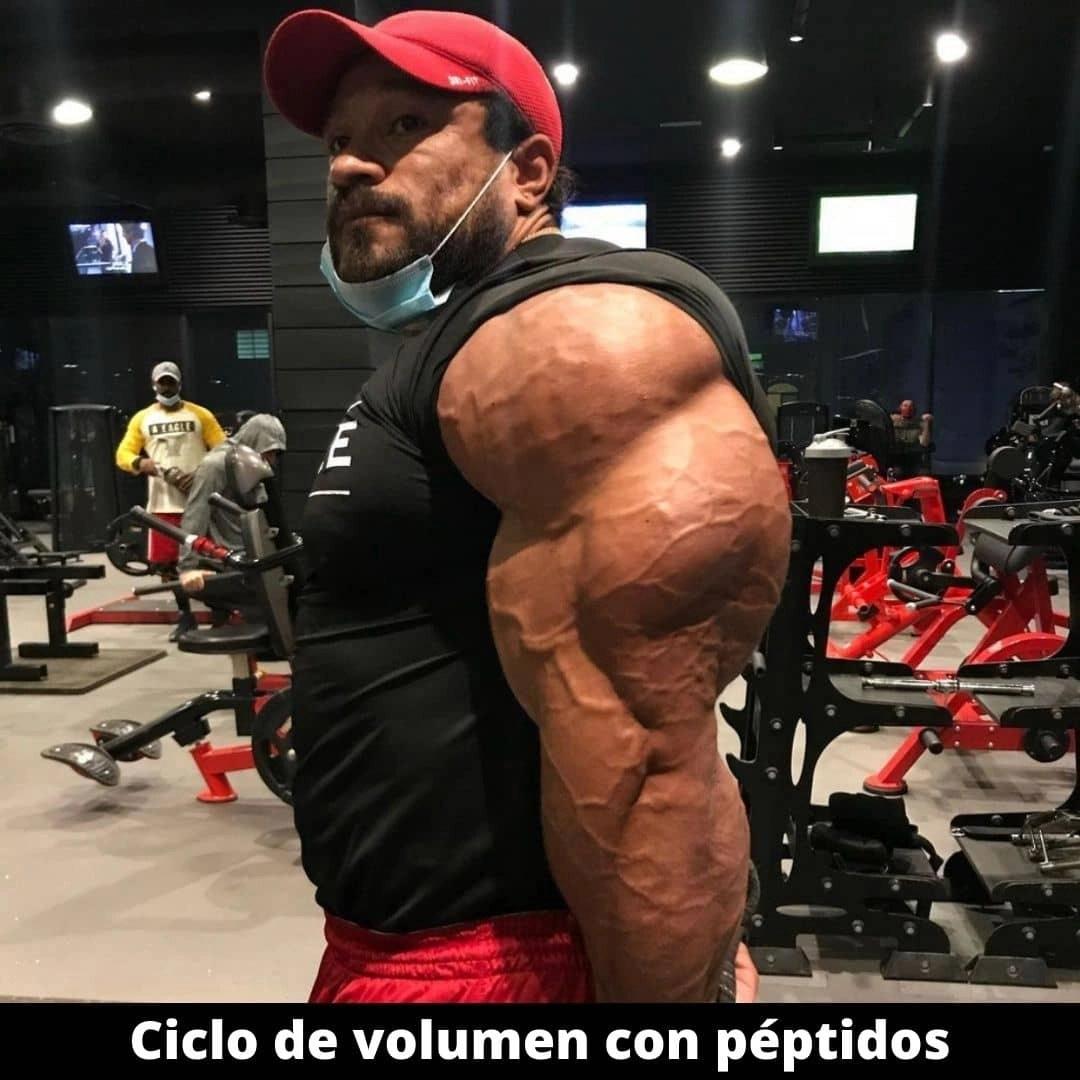Ciclo de volumen con péptidos