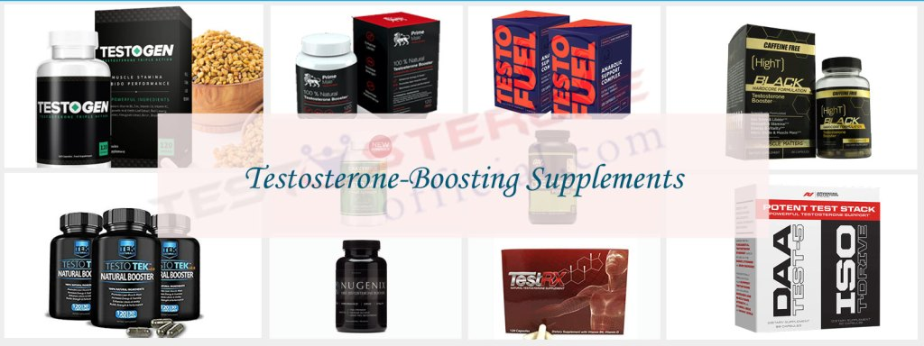 Testosterone Boosting Supplements Featured