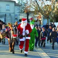 Noël dans les rues le 17 décembre