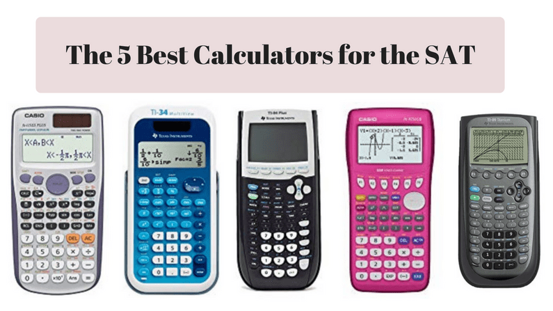 best calculators for the SAT