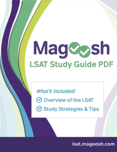 magoosh lsat study guide