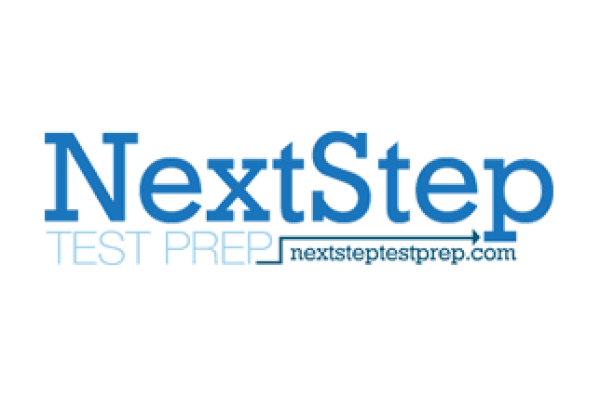 next step test prep logo