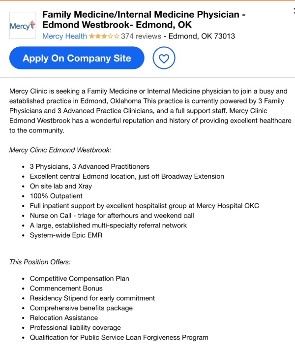 internal medicine job description