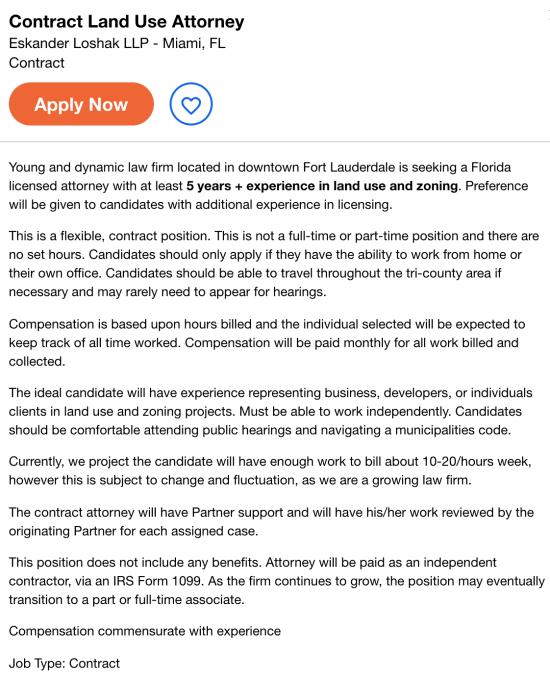 contract lawyer job description