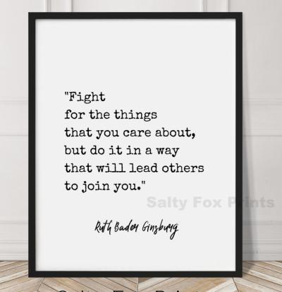 RBG law school quote