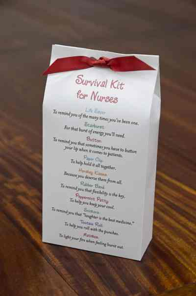 survival kit for nurses