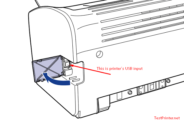 How to connect Canon LBP 2900 printer to your computer