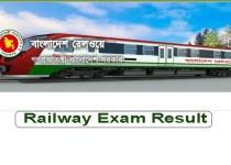 Railway Exam Result 2019