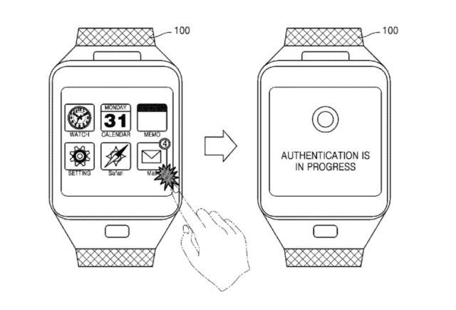 Smartwatch-veine