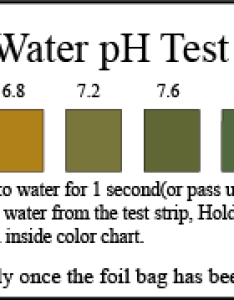 Ph water test strips also in kit at home drinking quality rh testsure