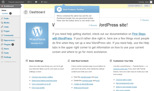 cara instal wordpress self hosting picture