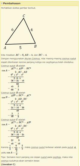 Aturan Sinus Cosinus Dan Luas Segitiga : aturan, sinus, cosinus, segitiga, Aturan, Sinus,, Cosinus,, Segitiga, APPELMATH