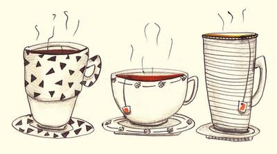 Cute Coffee Mug Wallpaper Tea Time Une 226 Me Voyageuse