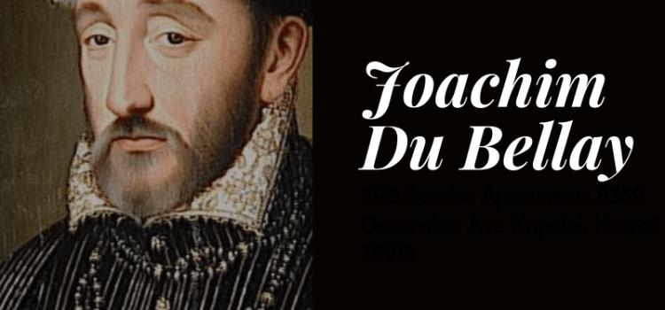 Fiche Auteur – Joachim Du Bellay