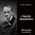 Charles Baudelaire fiche auteur