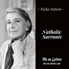 Fiche Auteur – Nathalie Sarraute