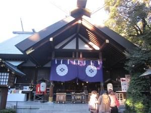 東京大神宮の節分祭2020豆まき