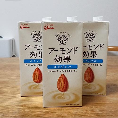 アーモンドミルク効果女性ビタミンE